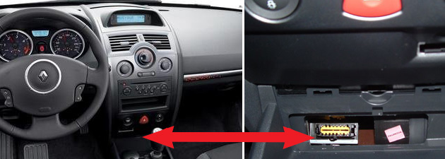where to find obd2 socket on the renault meganerenault repairs