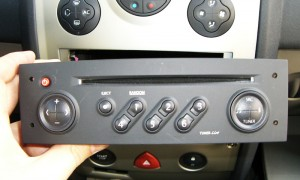 Renault menage radio
